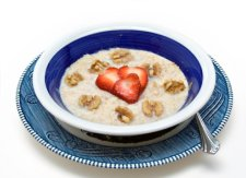 cholesterol and the benefits of fiber.